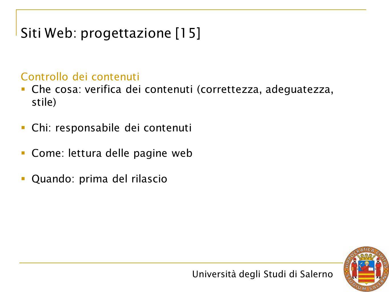 Siti Web: progettazione [15]